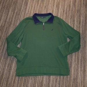 Nautica 1/4 Zip Sweatshirt Size XXL